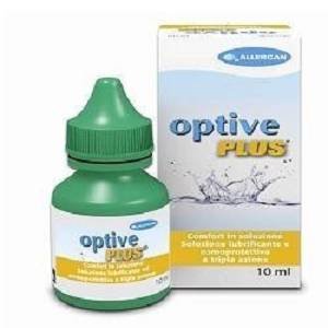 ALLERGAN SpA OPTIVE PLUS SOLUZIONE OFTALMICA 10ML