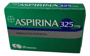 BAYER SpA ASPIRINA 03 10 COMPRESSE  325MG