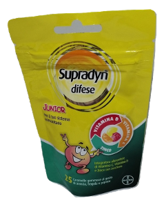 BAYER SpA SUPRADYN DIFESE JUNIOR 25 CARAMELLE GOMMOSE