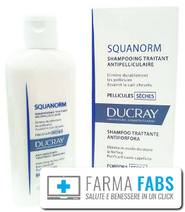 DUCRAY (Pierre Fabre It. SpA) SQUANORM FORFORA SECCA SH200ML