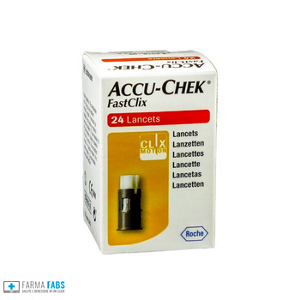 ROCHE DIABETES CARE ITALY SpA ACCU-CHEK FASTCLIX 24 LANCETTE