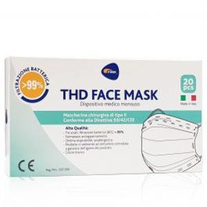 THD SpA THD FACE MASK S LIGHT BLUE10PZ